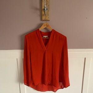 Oak + Fort silk blouse.